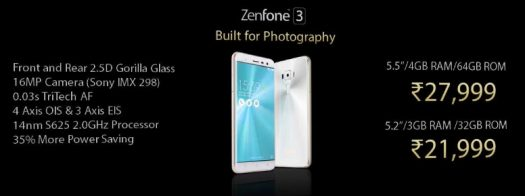 zenfone-3-price-india-ze552kl-ze520kl