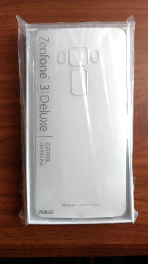 sports shoes e1fe3 2fdeb How did I get this official Asus Zenfone 3 Deluxe clear case?