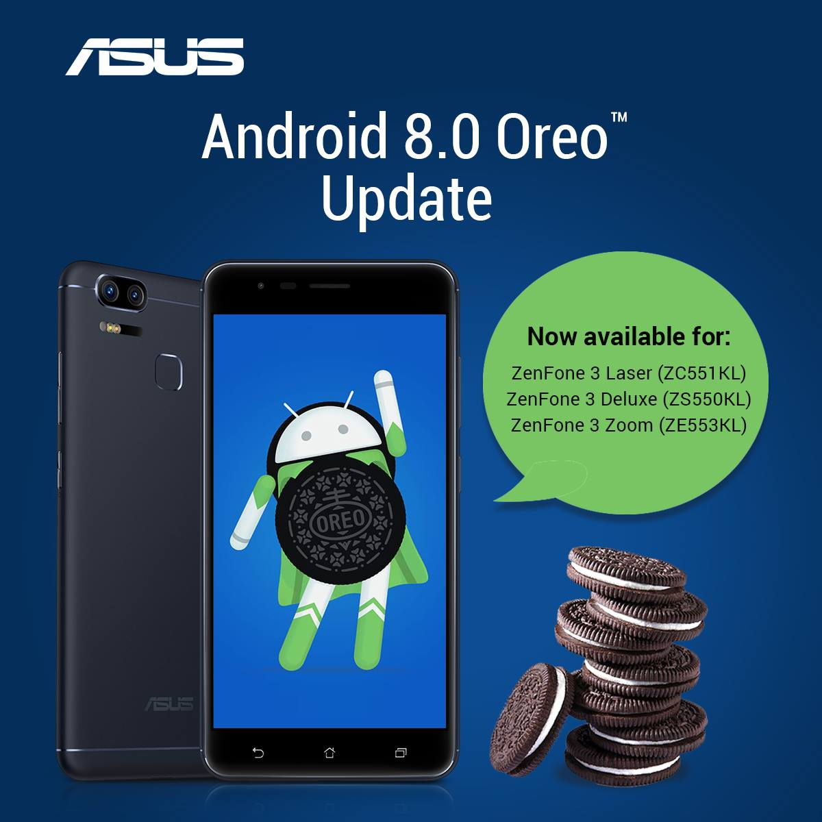 Android Oreo 8 0 update now available for more ZenFone models