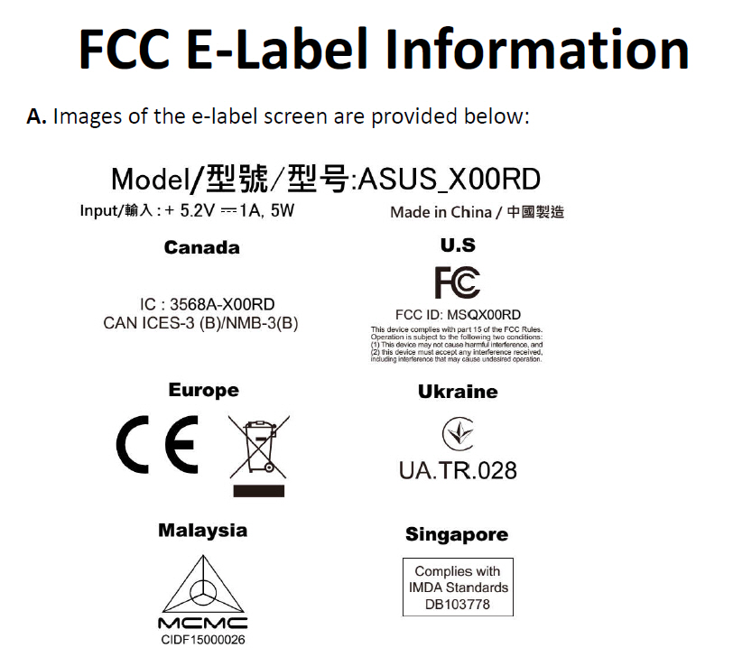 Ultra cheap ZenFone Live L1 shows up at FCC – Coming to US and Canada